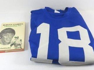 Replica 1960's Home Los Angeles Rams #18 Blue