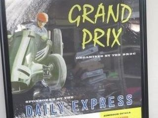 Original Poster For The British Grand Prix