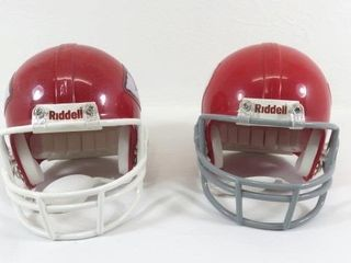 Two Different Replica Mini Helmets From The