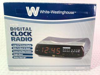 White-Westinghouse Digital Clock Radio