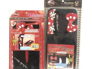 New Disney Lovely Minnie Tissue Box/DVD Carrier