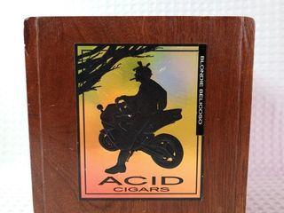 Acid Cigar Wooden Box