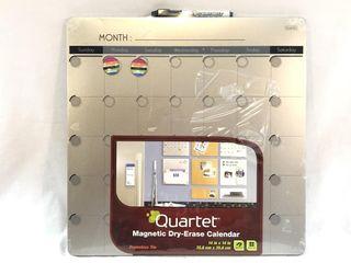 Quartet Magnetic Dry-Erase Calendar