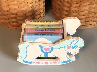 Rock-A-Bye Baby 4 Cassette Lullaby Set