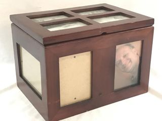 Wooden Photo Storage/Display Box