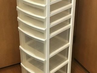 7 Drawer Rolling Storage Cabinet LIKE NEW!