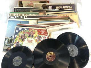 Lot of Over 80 Vinyl 33 1/3 LP?s