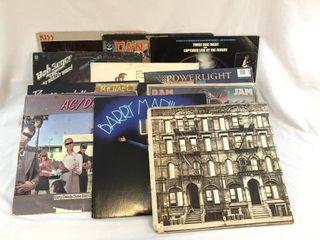 Lot of 12 - 1980?s 33 1/3 Vinyl Albums