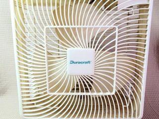 Duracraft White Window Fan