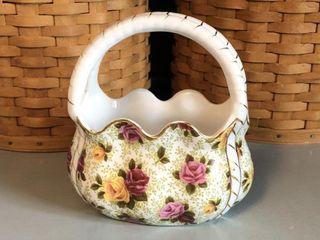 Baum Bro?s.Formalities Purse Porcelain Basket