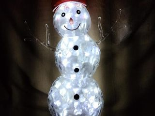 31 Inches Tall Light Up Snowman