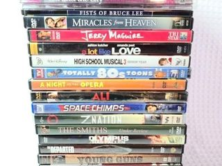 25 DVD'S Saw, Bruce Lee, Cartoons, And More!