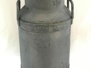 Antique Milk Can Coburg Dairy VERY NICE!