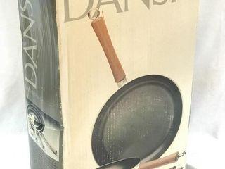 NEW 3pc DANSK Omlette Pan Set No-Stick Surface