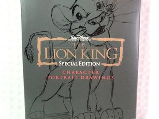 Lion King Character Portrait Drawings Special Set