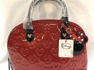 New Disney Loungefly Embossed Satchel Purse