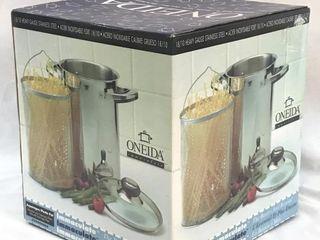 NEW Oneida Asparagus/Pasta Pot