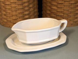 Pfaltzgraff Gravy Boat with Under Plate