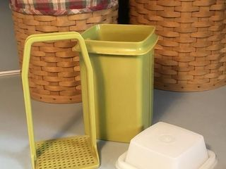 Vintage Pick-A-Deli Tupperware Pickle Keeper