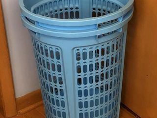 2 Tall Honeycomb Vented Laundry Baskets
