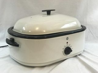 GE 18qt Electric Roaster Oven READY TO WORK!