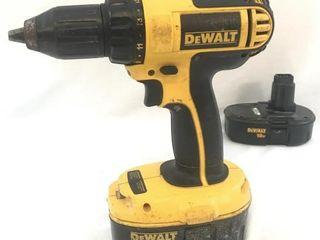Dewalt DC720 Cordless Drill w/2 Batteries DC720