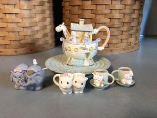 Precious Moments Noah?s Ark Tea Set