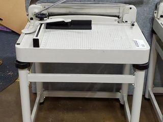 "16.5x17"" Stack Paper Cutter w/ Stand Amazing"