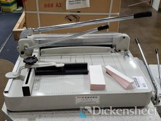"16.5x17"" Stack Paper Cutter Amazing auction"