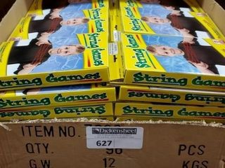 String Games, 1 case of approx. 96 One bid buys
