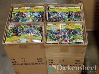 "2"" Frog sets, 1 case of approx. 144 sets"