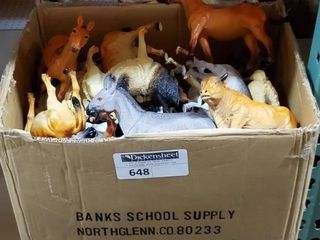"6.5-8.5"" Farm Animals, 2 cases as photographed."