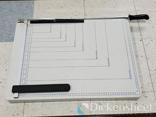 "17x21"" Paper Cutter, Qty 8 One bid buys all"
