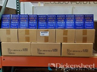 Webster's Thesaurus, 39+ cases, 24 per case Very