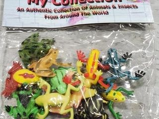 Mini Frogs, approx 72 sets as photographed. One