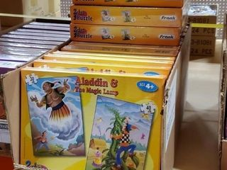 Aladdin/Jack & the Beanstalk puzzles, approx Qty