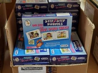 Step by Step Phonics Set 2, Qty 21 Please utilize
