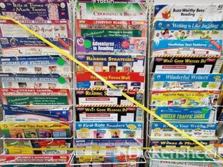 Reading bulletin board sets as photographed. One