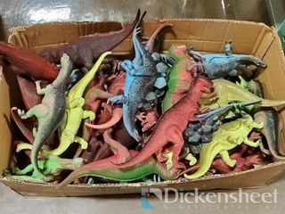 "10-13"" Dinosaur assortment, 1 box of approx. 36"