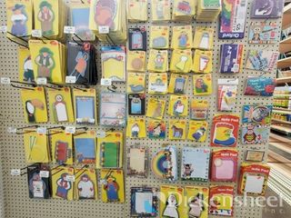 Note Pad assortment as photographed. One bid buys