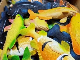 "8"" Tropical Fish, Approx 1.5 cases as"
