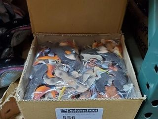 "4"" Asst. Birds, Approx 5 boxes of 12 as"
