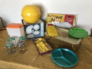Picnic Ball, Lap Tray x2, Retro picnic package