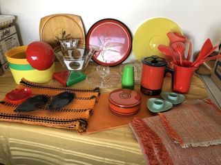 Camping Supplies -Plastic serving