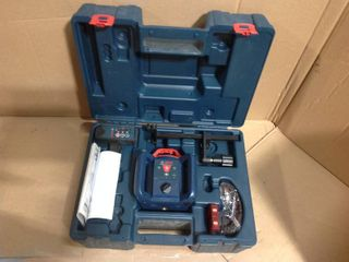 800 ft. Self Leveling Rotary Laser Level Kit with Carrying Case in good condition