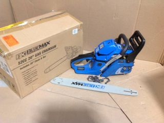 20 in. 52cc Gas Chainsaw in good condition