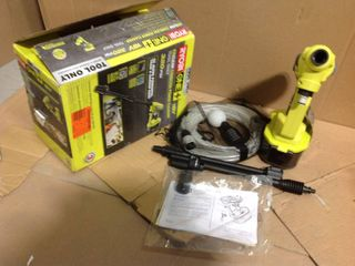 RYOBI ONE+ 18-Volt 320 PSI 0.8 GPM Cold Water Cordless Power Cleaner (Tool Only) in good condition