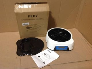 Pedy Pet Automatic Feeder and Waterer 2 in 1 in good condition