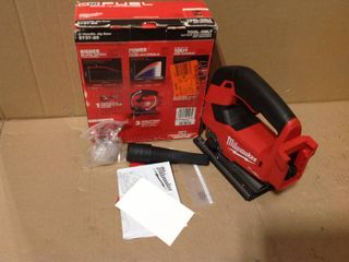 Milwaukee M18 FUEL 18-Volt Lithium-Ion Brushless Cordless Jig Saw (Tool-Only) in good condition