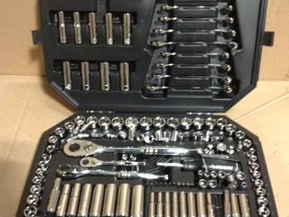 Husky 1/4 in., 3/8 in. and 1/2 in. Drive Mechanics Tool Set (149-Piece) in good condition